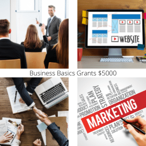 Business Basics Grants training, coaching, website, business advice, marketing service and business continuity.