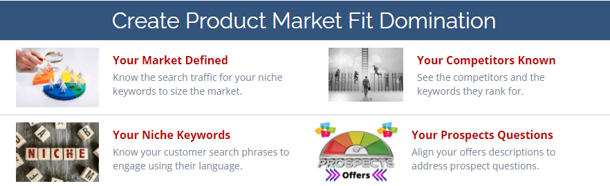 Create Product Market Fit Domination