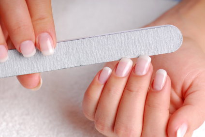 Easy Fingernail Care with Large Nail File Small Nail File Buffer Kit