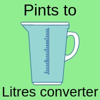 Pints to Litres Converter