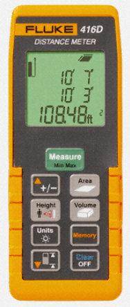 laser distance measurement tool achieving conversion of distance, area and volume