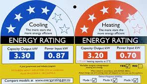 Air conditioner Energy Star ratings