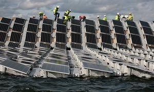 floating solar alternative energy