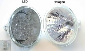 Halogen and LED lights