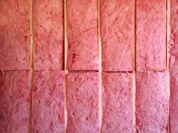 House insulation - pink