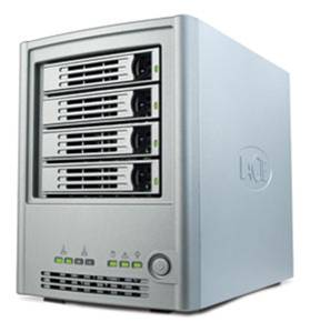Network Attached Storage 4 drives