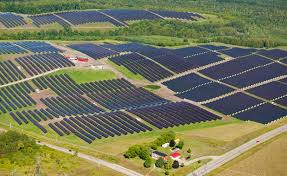 solar power farm