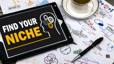 Select your niche market and target market