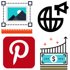 Pinterest Pins for advertising and gaining customers