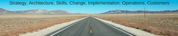 Strategy Architecture Change Implementation Operations Skills Customers