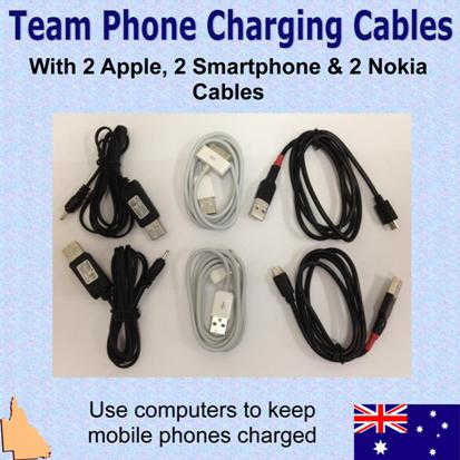 Dual Car Charger 2 Micro USB Smartphone Charging Cables