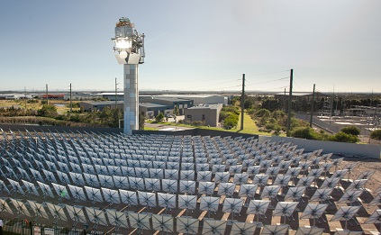 Australian Solar Thermal Tower Power Station
