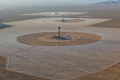 Ivanpah Solar Thermal Tower Power Station