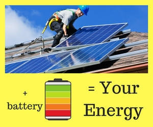 roof top solar and batteries for your energy needs