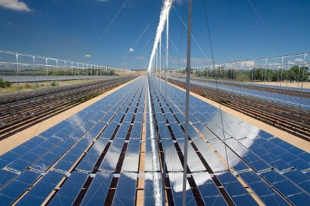 Solar Thermal Energy with Coal Fired Power Station