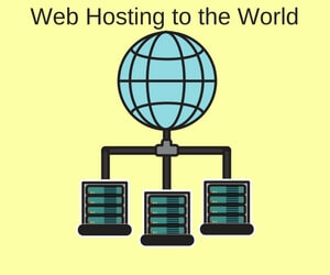 Web hosting for worldwide coverage