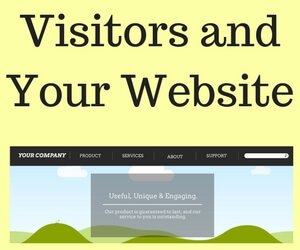 Creating a website for your visitors